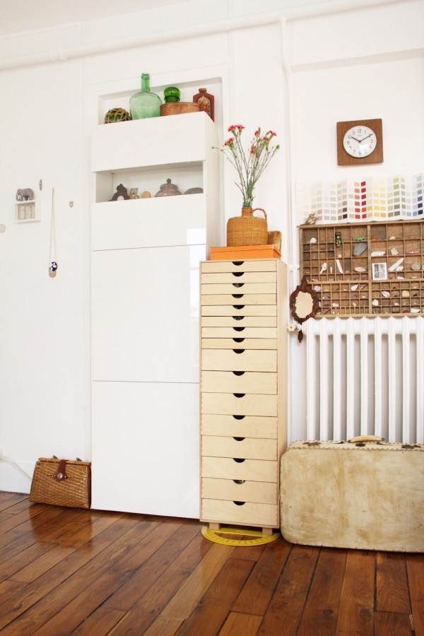 Chez clare vert cerise blog diy do it yourself for Caler un meuble