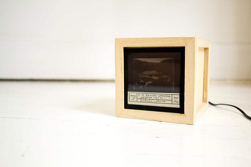diy une lampe lanterne magique vert cerise. Black Bedroom Furniture Sets. Home Design Ideas