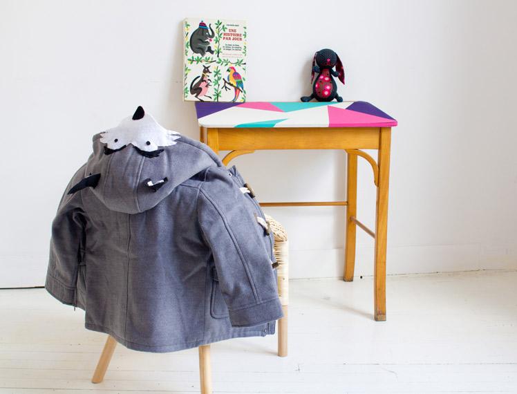 DIY manteau loup par vert cerise