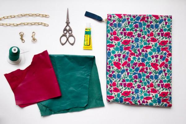 DIY sac liberty : le matériel