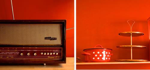 Chaise Cuisine Quebec : Peinture de Cuisine Peinture Cuisine OrangéeDu rouge pour cordon
