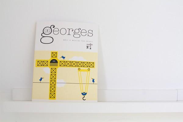 georges magazine graphique pour enfants