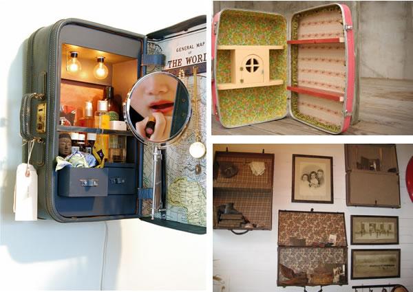 Ma valise vintage j 39 en fais quoi vert cerise blog diy do it your - Que faire avec une vieille baignoire ...