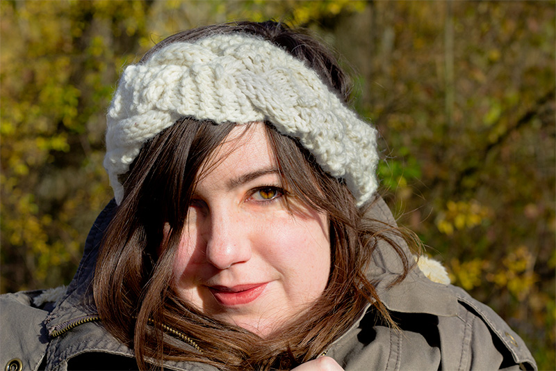 Woolkiss par Vert Cerise : headband d'hiver