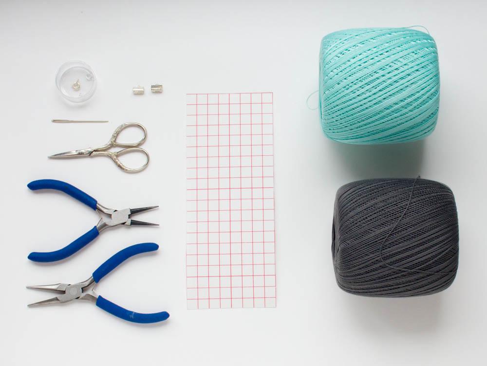 Bracelet facile à faire en fil