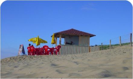 Cabanes sur la plage