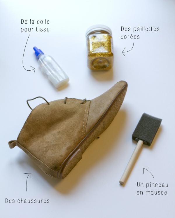 à – Vert Cerise DIY DIYLes chaussures paillettes Blog Yf7gby6