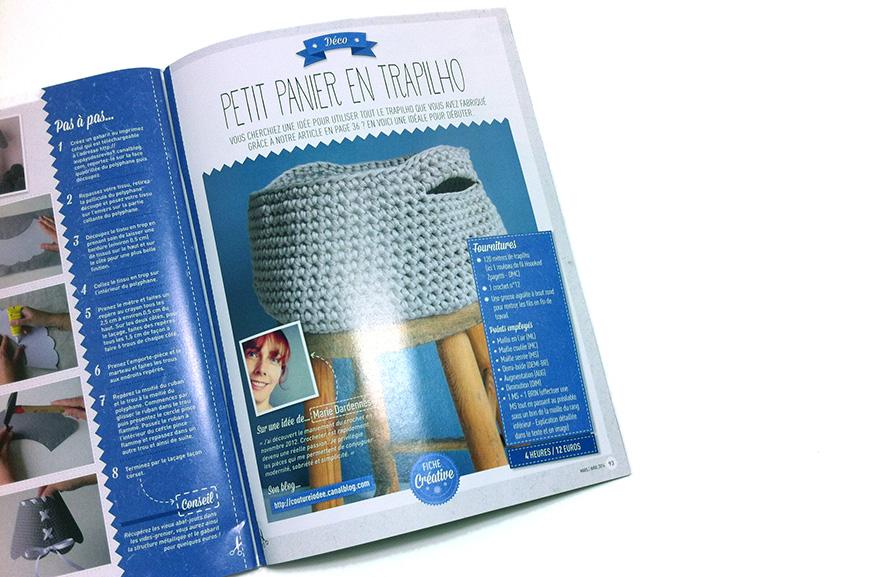 Magazine creative - Tuto trapilho