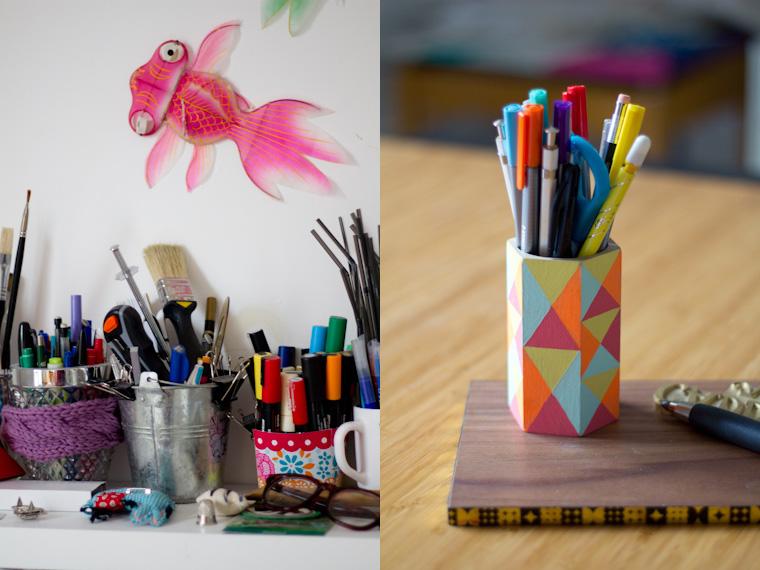 details-bureau-vertcerise-stylos